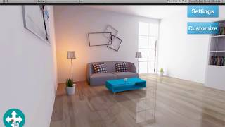Realtime Reflection for Mobile Interior Lighting by Ali Zanjiran