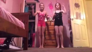 Freaks like me (parody) jade and Alysha dance