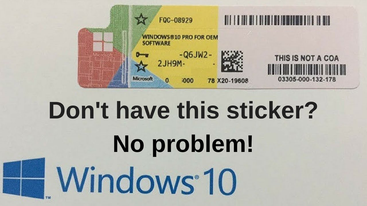 How to extract your Windows 10 License KEY for safe ...