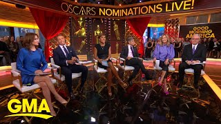 Breaking down the 2020 Oscar nominations l GMA