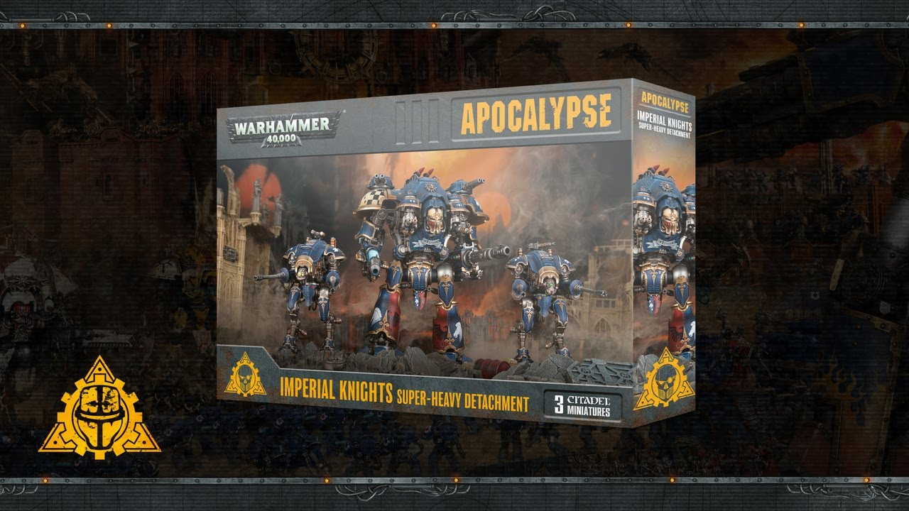 Warhammer 40,000: Apocalypse Detachments – Pre-order Now