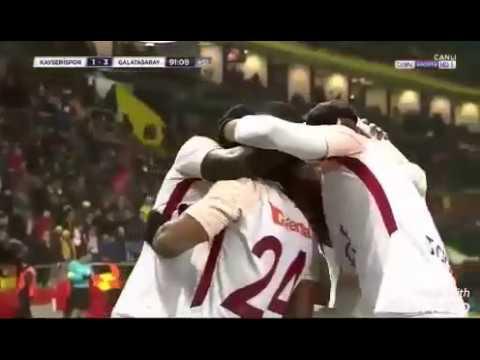 Kayserispor 1-3 Galatasaray Geniş Maçı Özeti