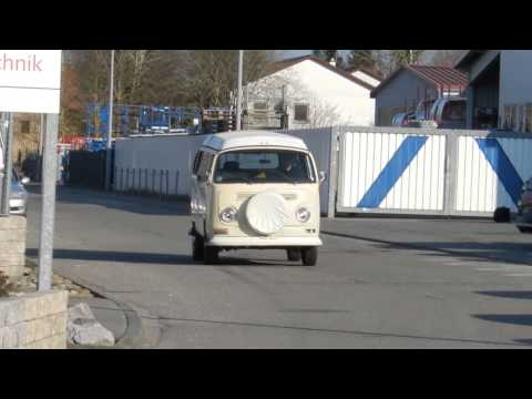 "1968 VW Bus T2a Westfalia ""Amsterdam"" Pop Top --- Video II"