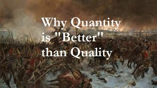 """EU4- Why Quantity is """"Better"""" than Quality"""