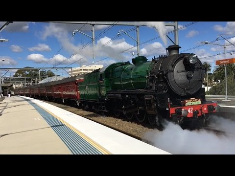Australia - Steam Trains in New South Wales - 2016