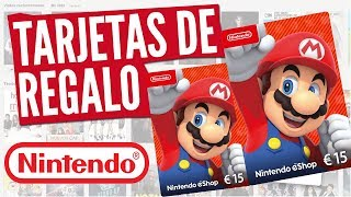Añadir fondos a Nintendo Switch | Ingresar saldo en Nintendo Switch | Canjear Tarjeta Nintendo eShop