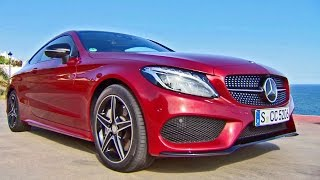 2016 Mercedes C-Class Coupe (C300) AMG Line - Footage