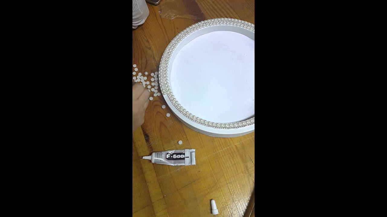 Kristal Taşlı şeritler Ile Dekoratif Ayna Süsleme Youtube