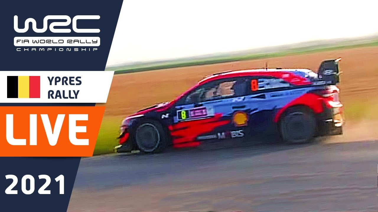 WRC LIVE! Shakedown at Renties Ypres Rally Belgium 2021 : The WRC live stream from WRC+ ALL LIVE