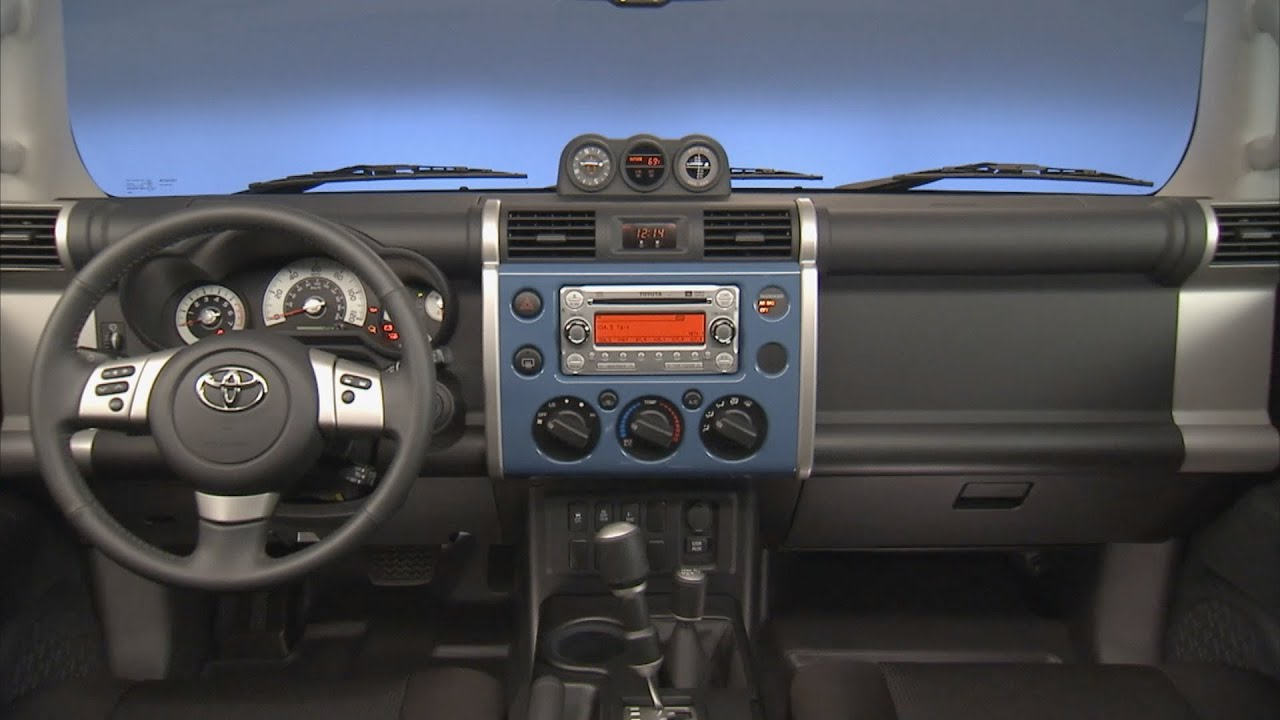2011 2013 toyota fj cruiser interior youtube. Black Bedroom Furniture Sets. Home Design Ideas