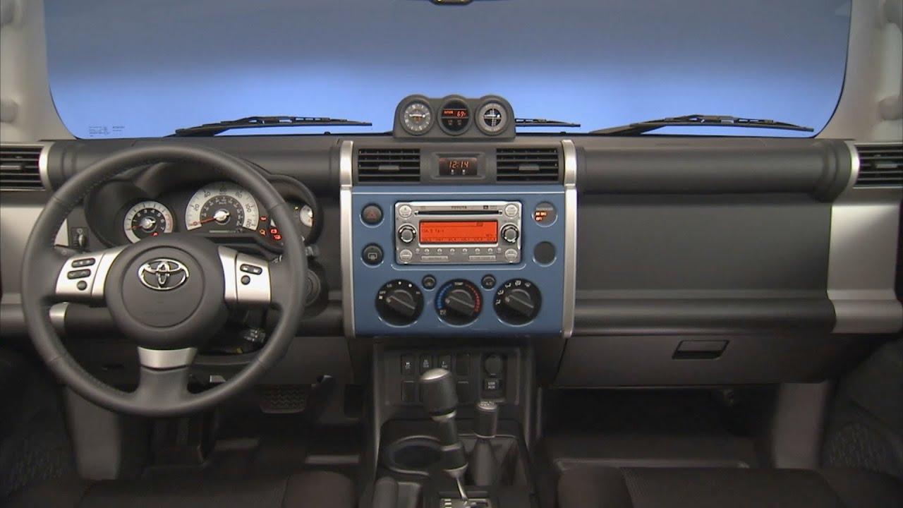 2011 2013 Toyota Fj Cruiser Interior Youtube