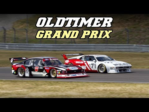Oldtimer GP 2018 - preview (155 DTM, Cobra, DBR9, M1 Procar, S7R, ...)