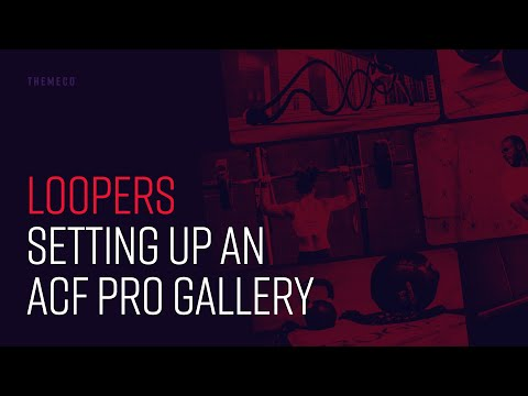 Loopers: Setting up an ACF Pro Gallery