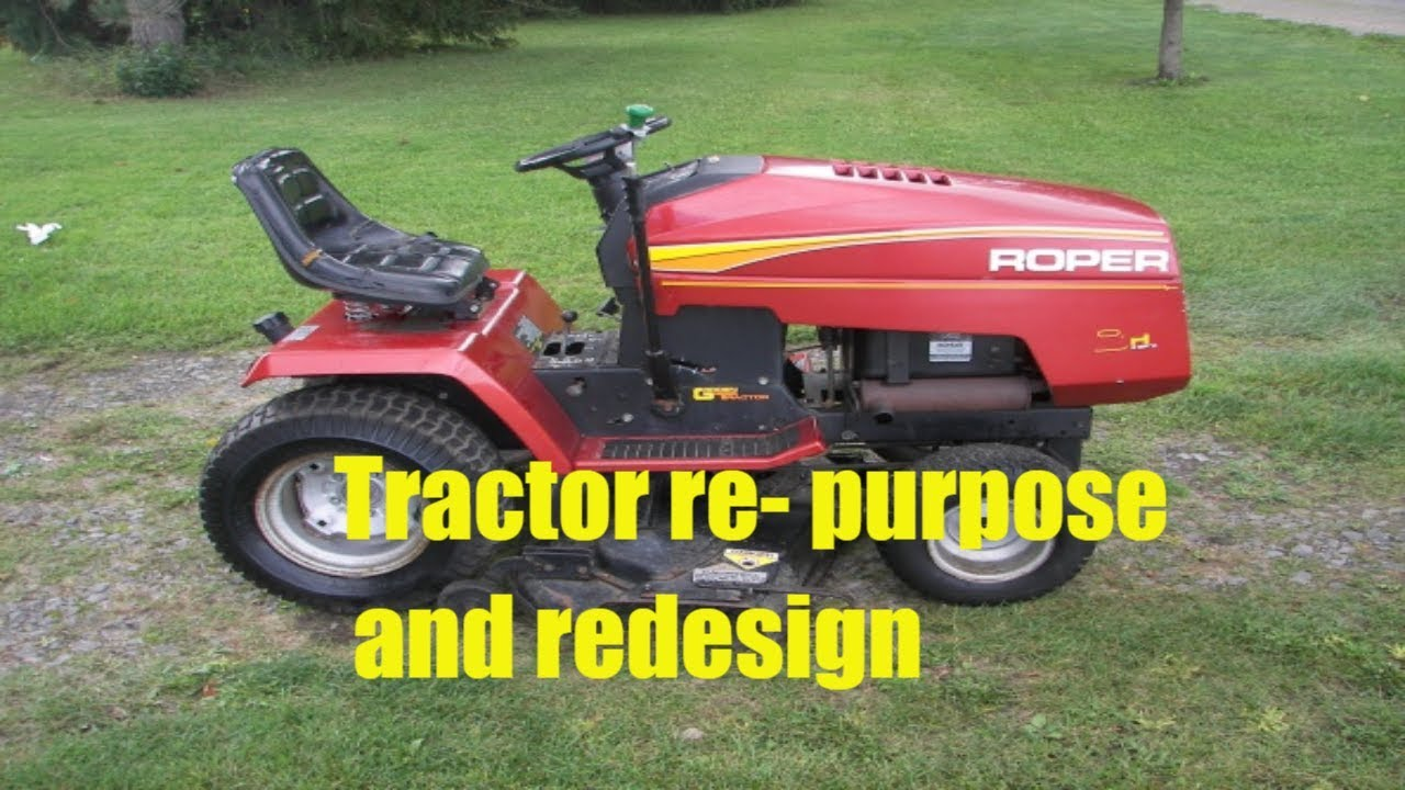 [SCHEMATICS_4HG]  Roper Yard Pro Garden Tractor re- purpose and redesign - YouTube   Roper Tractor Wiring Diagram      YouTube