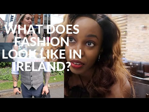 WHERE DO PEOPLE IN IRELAND SHOP FOR CLOTHES?HOW FASHIONABLE IS IRELAND IN SUMMER?
