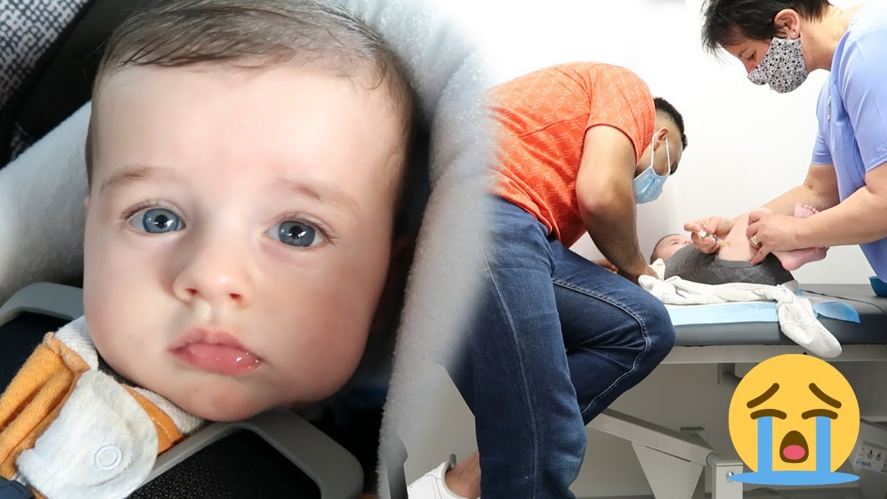 ABBEY COULDN'T DO IT! Noah Visits The Doctor Again *Vaccination Injection*