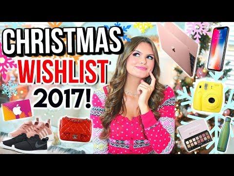 Christmas Wishlist 2017 | Teen Gift Guide
