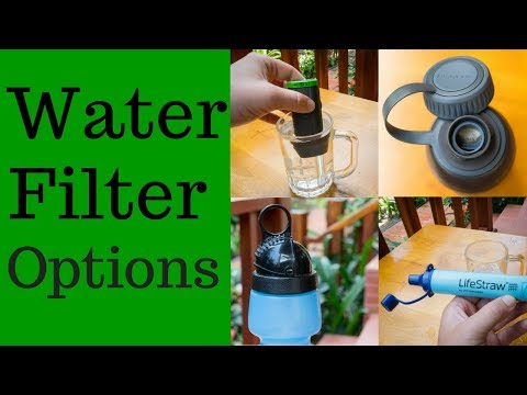 Comparing Four Different Water Purification Methods