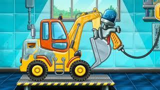 Build A House , Car Wash Truck Games for Kids Gameplay Walkthrough screenshot 2