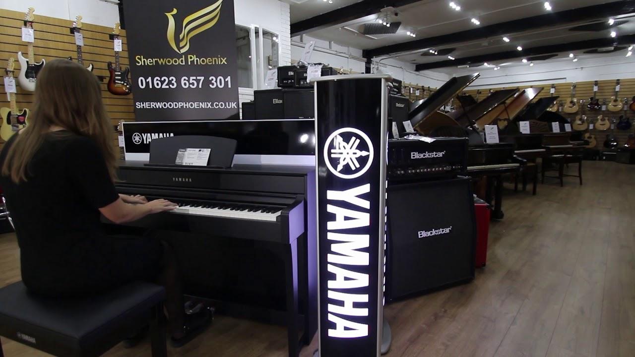 yamaha clp 635 digital piano sherwood phoenix nottingham youtube. Black Bedroom Furniture Sets. Home Design Ideas