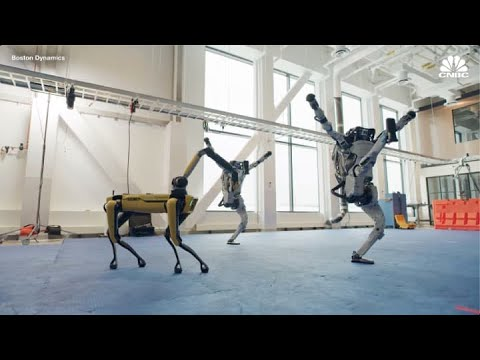 Watch Boston Dynamic robots show off dance moves in new vira