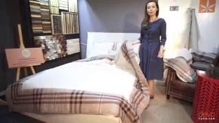 Одеяло – покрывало из конопли от DevoHome(Одеяло-покрывало из конопли, двуспальное. Этим одеялом можно укрываться без пододеяльника, потому что оно..., 2016-10-14T06:41:36.000Z)