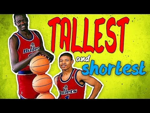 Who Are The Tallest And Shortest Players In Nba History