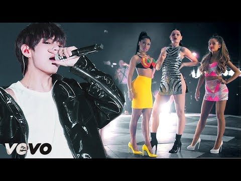 BTS x Blackpink x Ariana Grande x Jessie J x Nicki Minaj - 'BANG BANG WITH THE HOT BULLETPROOF'
