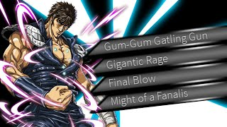 THE WRATH OF KENSHIRO FIST OF THE NORTH STAR | Roblox Anime Cross 2
