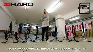 Haro BMX 2015 BMX bikes review | with english subtitles
