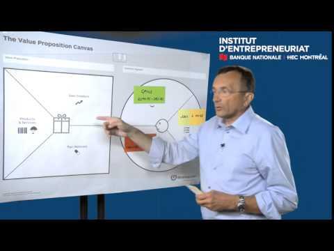 Yves Pigneur présente Value proposition canvas