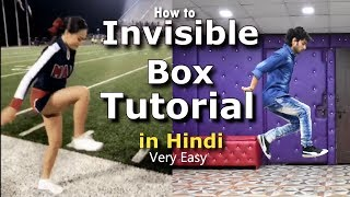How to Step on Air | Invisible box Challenge Tutorial video in Hindi | Ajay Poptron