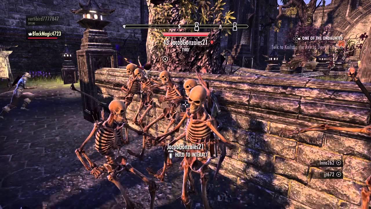 The Elder Scrolls Online DAGGERFALL PARTY - YouTube
