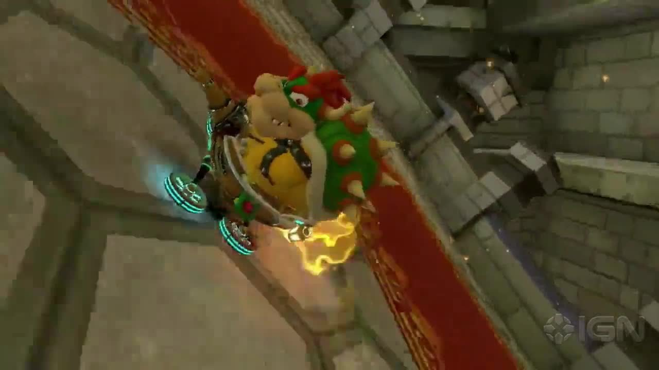 Mario Kart 8 The Fastest Path Bowser S Castle