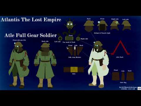 Weapons and History of Atlantis: The Lost Empire