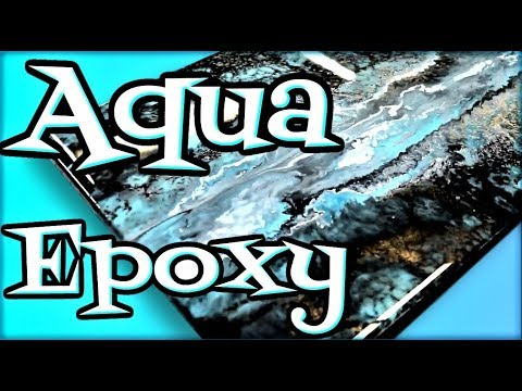 Aqua Epoxy color Recipe