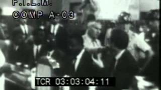 Civil Rights Movement (stock footage / archival footage)