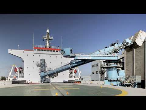 Siwertell ship unloaders - GRAIN