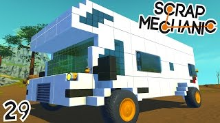 CONSTRUCTION D'UN CAMPING CAR ! | Scrap Mechanic ! #Ep29 thumbnail