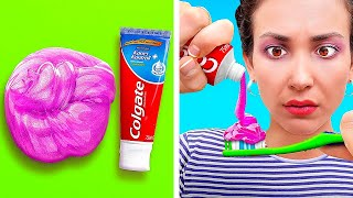 SLIME PRANK DIY ON FRIENDS! || Funny And Harmless Prank Ideas by 123 Go! Genius