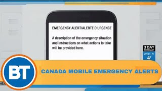 What to expect with Canada's new nation-wide mobile emergency alert system