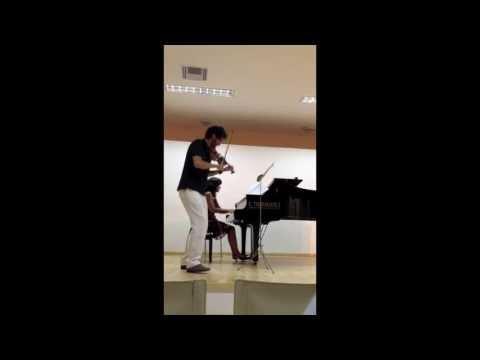 YANNIS CONSTANTINIDIS SUITE pour Violon et Piano (Antonis Sousamoglou & Maria Asteriadou)
