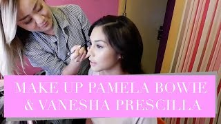 DAILY VLOG : MAKE UP IN ARTIS, PAMELA BOWIE DAN VANESHA PRESCILLA