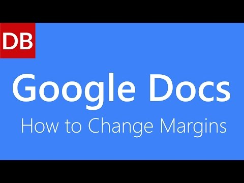 How to Change Margins   Google Docs Tutorial