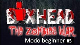 Jugando BoxHead The Zombie War #5