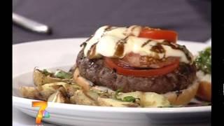 Caprese Burger - Kwwl