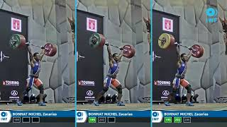BONNAT MICHEL Zacarias clean & jerk Grand Prix Lima