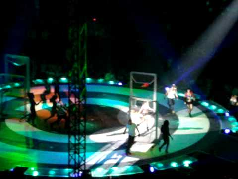 Britney Spears live in Stockholm Circus tour - Toxic