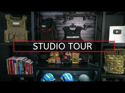 PrepMedic Studio Tour (Set, Video Equipment, Editing)