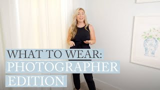 WHAT TO WEAR: Photographer Edi…